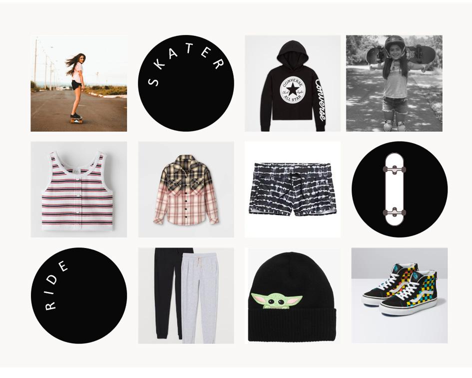Skater Girl - The Nongirly Look
